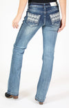 Baroque Embellished Junior Bootcut Jeans | JB-71143