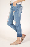 Distressed Boyfriend Jeans | JF-81219