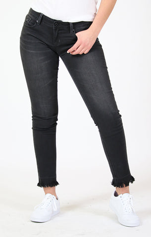 Thick Embellished Detail Bootcut Jeans | JB-51299