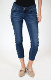 Light Wash Embellished Bootcut Jeans | JB-S186-32