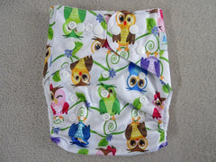 Pocket diaper without insert