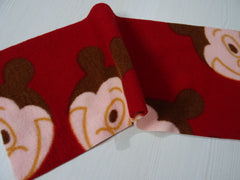 15x38 cm Fleece liner, stay dry: RED MICKEY
