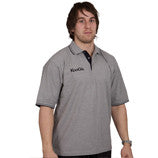 KOOGA CLASSIC RUGBY TEAMWEAR/LEISURE POLO SHIRT GREY/BLACK