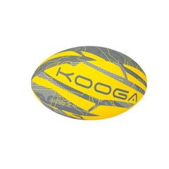 KOOGA WELFORD RUGBY TRAINING BALL DANDELION YELLOW SIZE 4