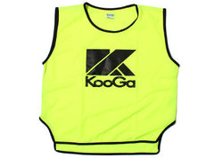 KOOGA JUNIOR RUGBY TRAINING/TEAMWEAR BIBS YELLOW