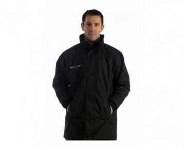KOOGA KIWI PITCHSIDE/SUPPORTERS RUGBY JACKET BLACK