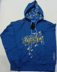 KOOGA OSPREYS LADIES SUPPORTERS SCRIPT RUGBY HOODY-BLUE