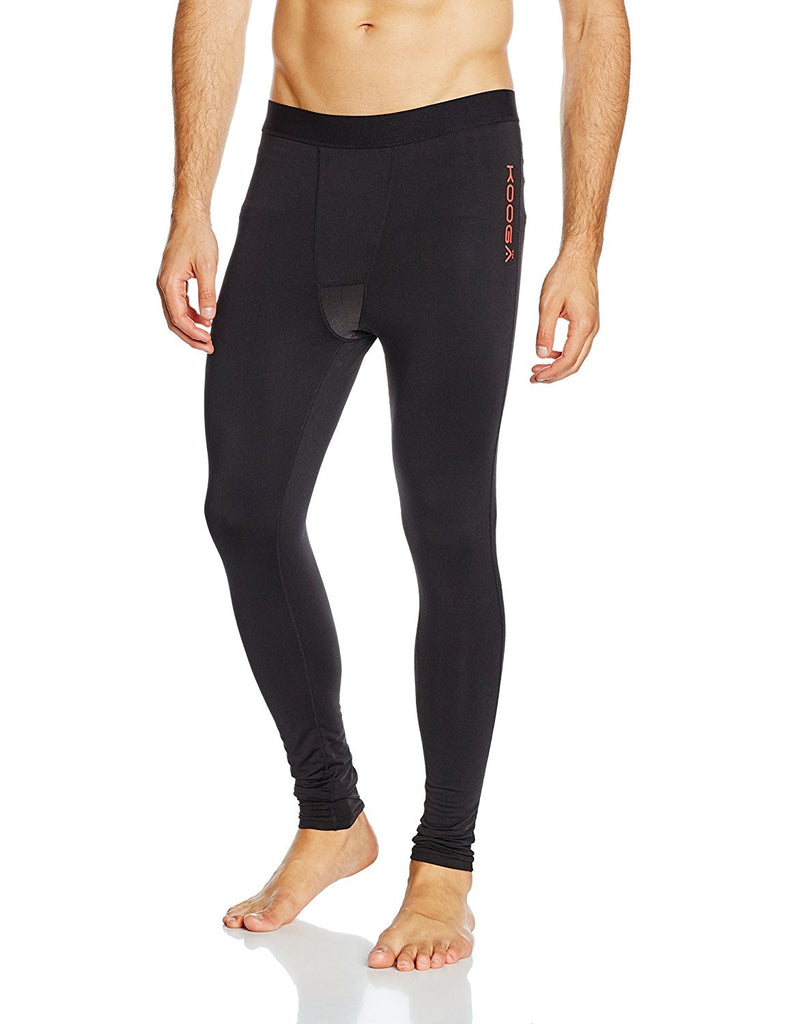 KOOGA MENS RUGBY ELITE BASE LAYER PANT BLACK