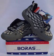 BORAS SPIDER GREY/NAVY SKATEBOARDING SHOES-SIZE 6
