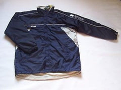 ERREA FLEECE LINED COACHES PITCHSIDE JACKET-NAVY/GREY