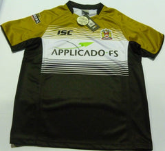 ISC WIGAN WARRIORS AWAY SUPER LEAGUE RUGBY SHIRT 2012