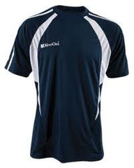 KOOGA  PRO TECHNOLOGY TEAMWEAR RUGBY TRAINING/LEISURE TEE NAVY/WHITE