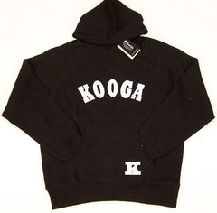 KOOGA COLLEGE TRAINING/PITCHSIDE RUGBY HOODY-BLACK
