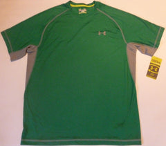 UNDER ARMOUR CATALYST S/S CREW RUGBY/TRAINING HEATGEAR TEE-SAGE