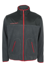 KOOGA MENS MICROFLEECE WITH OVERLAY RUGBY OFF FIELD JACKET CHARCOAL