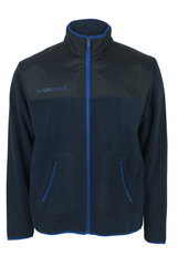 KOOGA MENS MICROFLEECE WITH OVERLAY RUGBY OFF FIELD JACKET NAVY