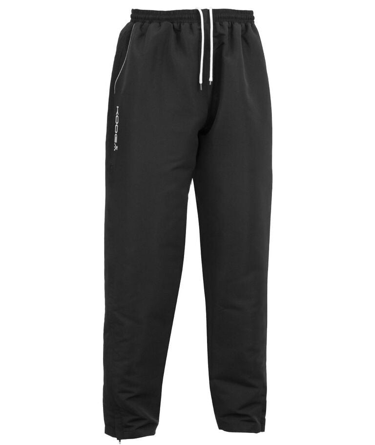 KOOGA MENS RUGBY TEAMWEAR VORTEX II TRAINING/OFF FIELD PANT BLACK