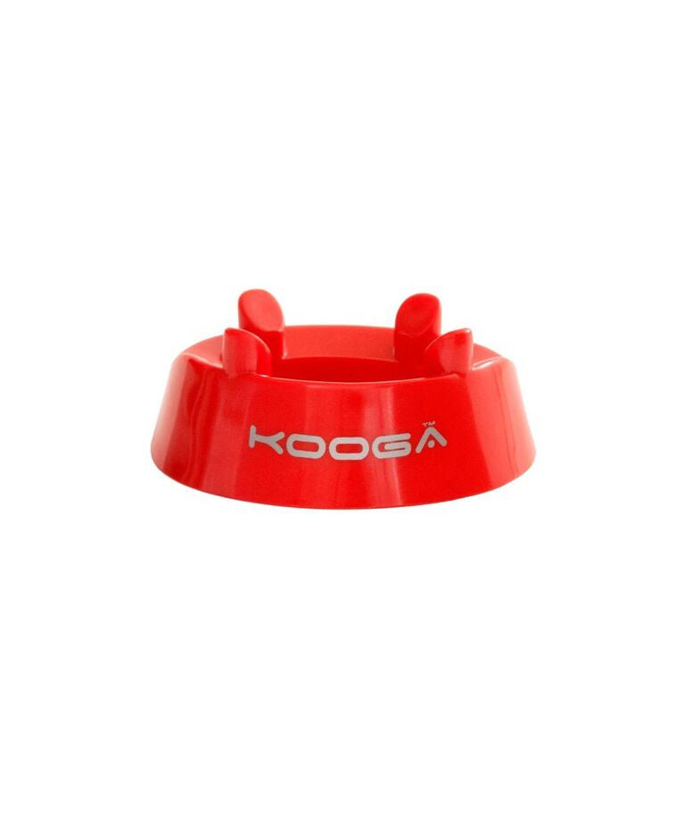 KOOGA MATCH/PRACTICE KICKING RING SCARLET/WHITE ONE SIZE