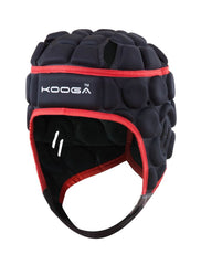 KOOGA MENS ELITE RUGBY HEADGUARD BLACK/RED