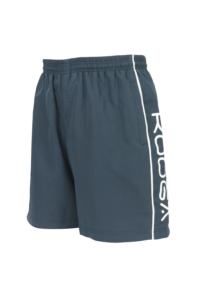 KOOGA MENS WOVEN RUGBY PLAYING/TRAINING/LEISURE/GYM SHORTS-NAVY