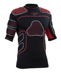 KOOGA MENS IPS PRO XII RUGBY BODY ARMOUR BLACK/RED