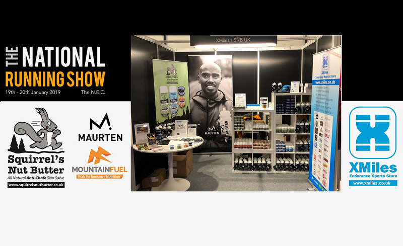 XMiles & SNB UK The National Running Show 2019