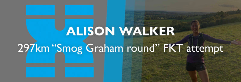 Alison Walker 297km Smog Graham round FKT attempt