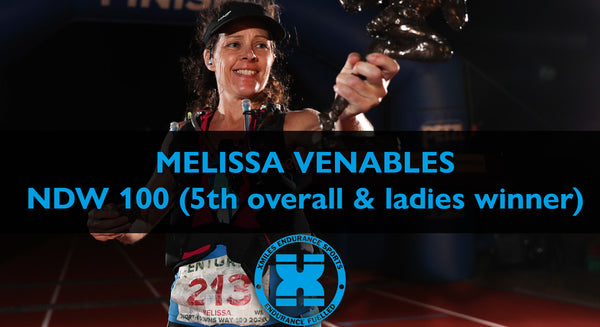 MELISSA VENABLES NDW 100 5TH OVERALL