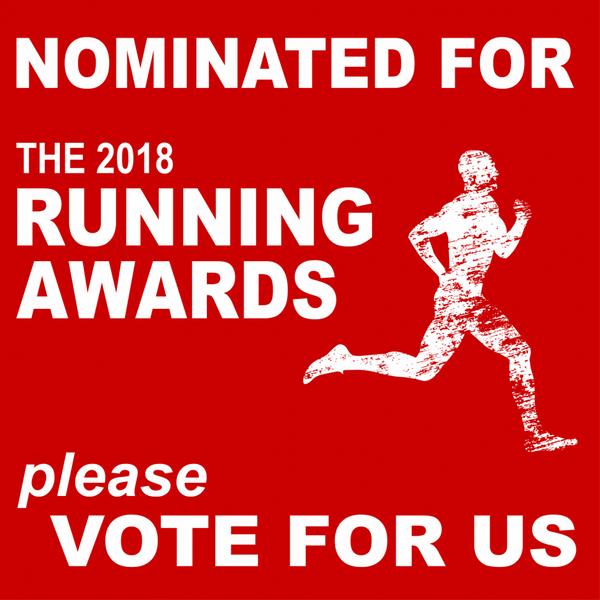We have been nominated in the The Running Awards