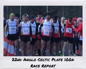 22nd Anglo Celtic Plate 100k. Perth, Scotland - Race Report by @fragilerunner