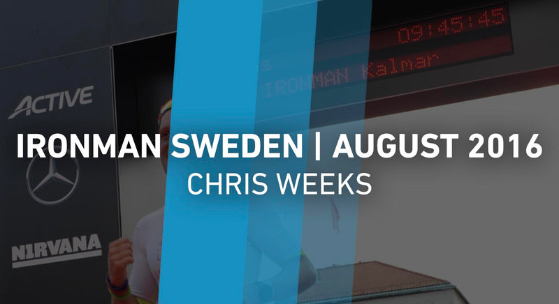 Race Report - Ironman Sweden - August 2016 - Chris Weeks