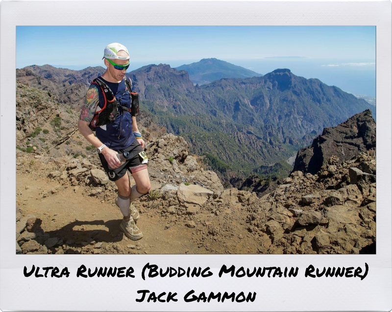 Ultra runner (Budding mountain runner) - Jack Gammon