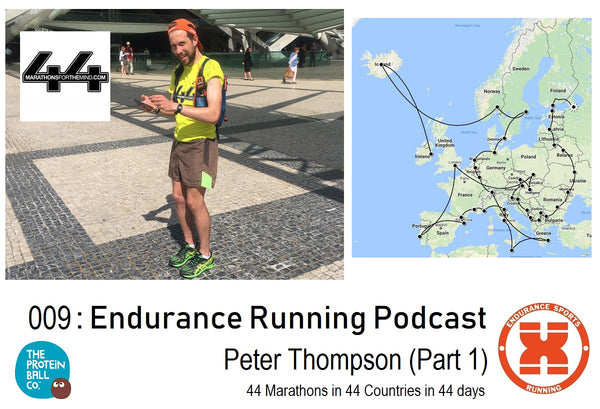 009: Endurance Sports Running - Peter Thompson (Part 1)