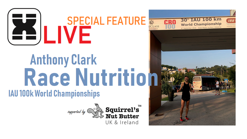 XMiles LIVE - Special Feature Episode | feat. Anthony Clark Race Nutrition W100k