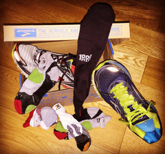 When to replace running socks
