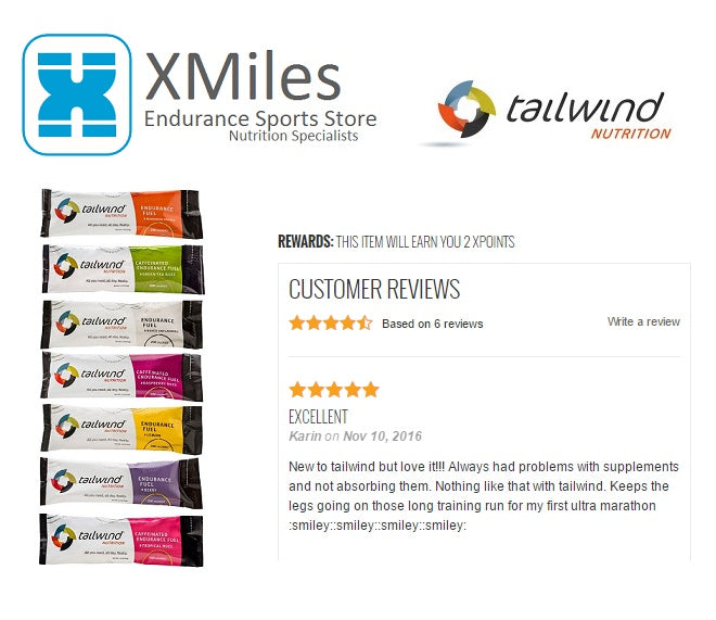 Tailwind Nutrition Customer Review