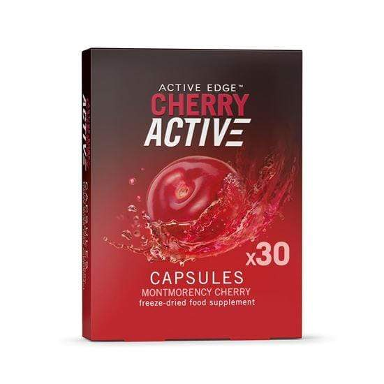 Active Edge Nutrition Supplement 30 Capsules Cherry Active Capsules (30 or 60)
