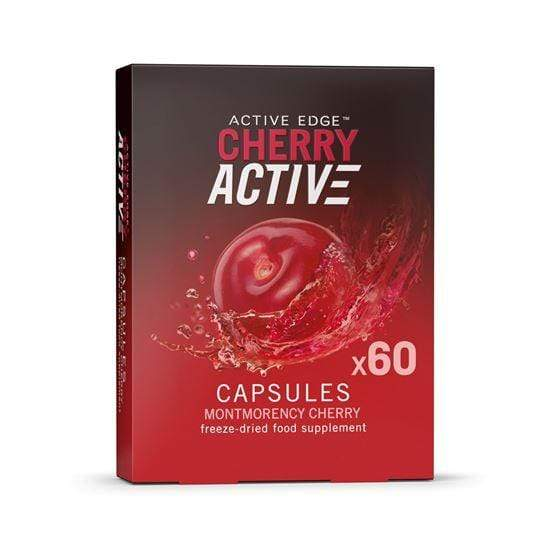 Active Edge Nutrition Supplement 60 Capsules Cherry Active Capsules (30 or 60)
