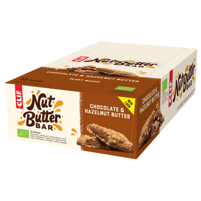 Clif Bars / Food Chocolate Hazelnut Butter Nut Butter Filled - 50g - Box 12 Bars