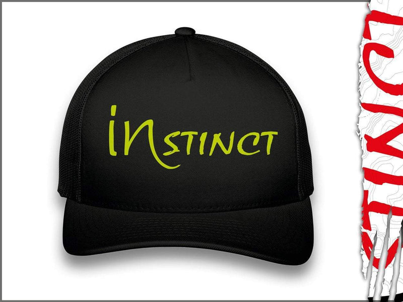 Instinct Headwear Black Instinct Trucker Cap