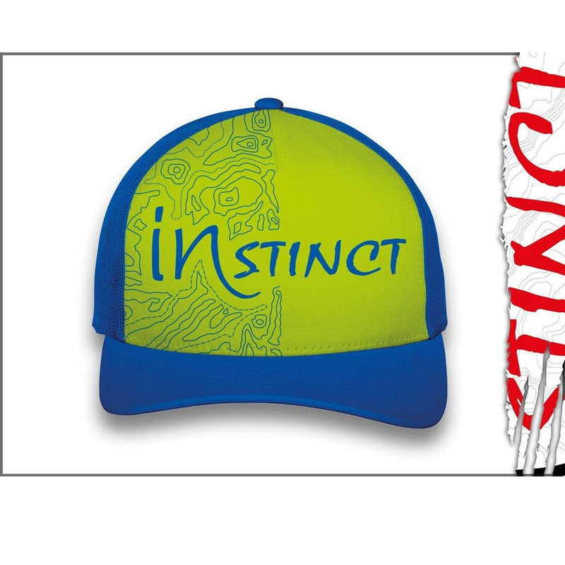 Instinct Headwear Blue/Green Instinct Trucker Cap