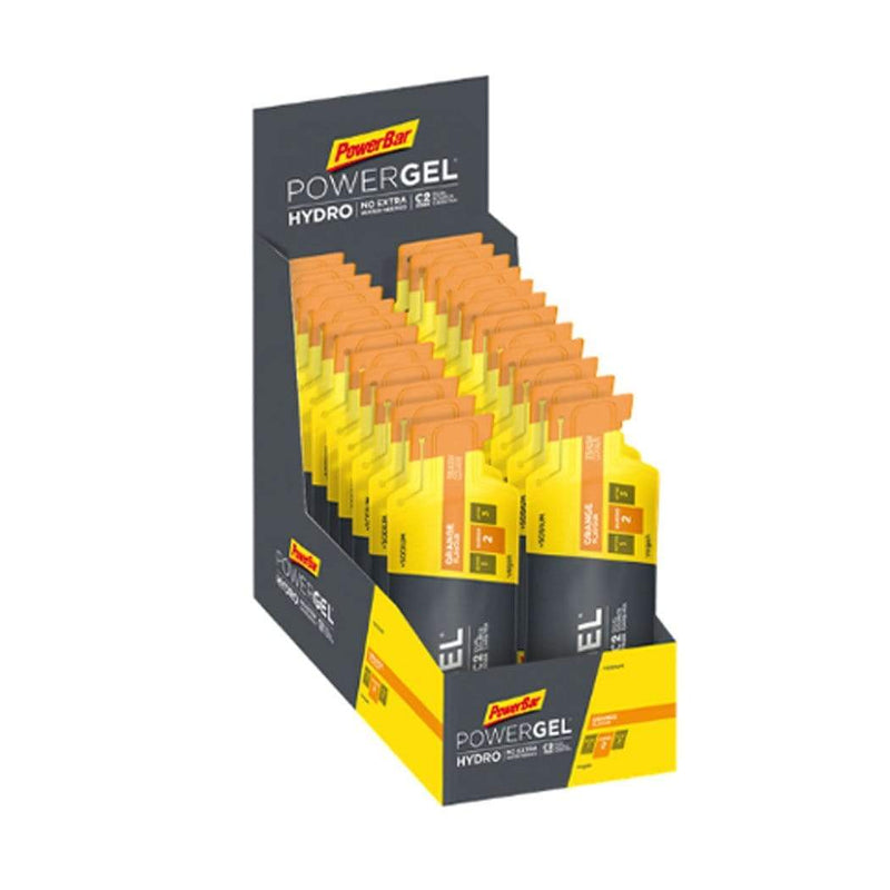 PowerBar Gels Orange PowerGel Hydro 67ml Box (24 x 67ml) XMiles