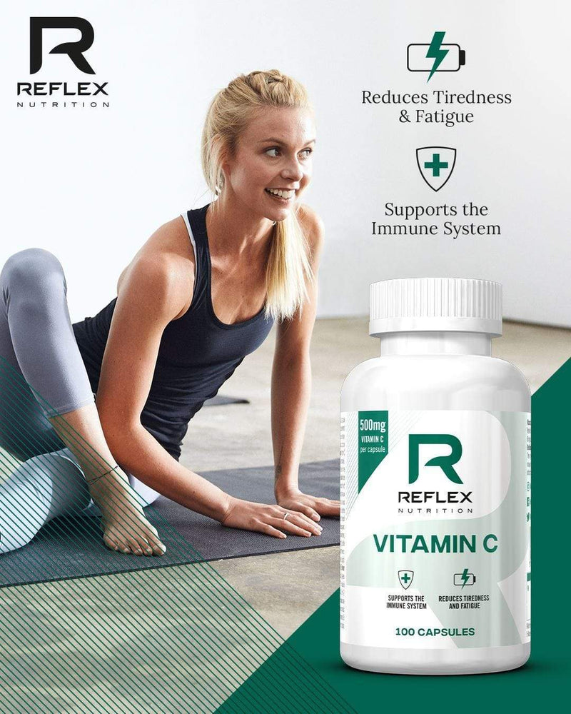 Reflex Nutrition Supplement Reflex Nutrition: Vitamin C (100 capsules)