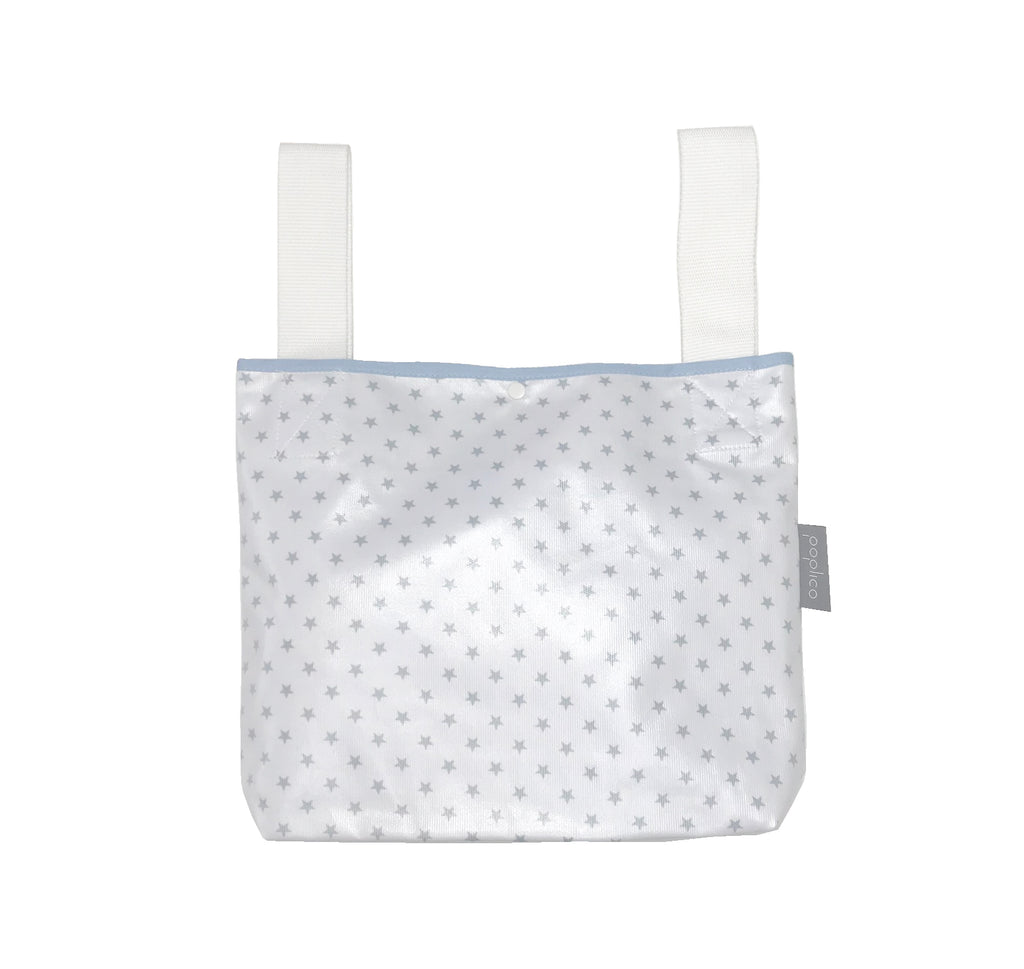 Buggy bag for baby essentials. Water and stain repellent fabric