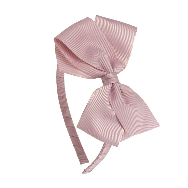 Grosgrain Bow Headband. Handcrafted in Spain
