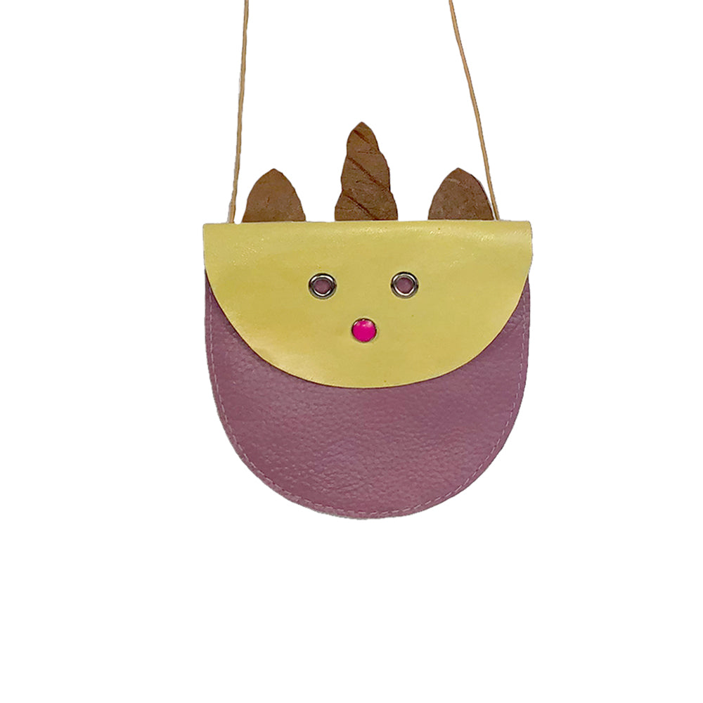 Leather Purse - Unicorn