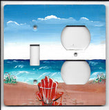 Beach Scene Switch and Plug Right