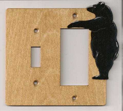 Bear Switch Rocker Right switch plate cover