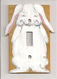 Bunny Single Switch plate