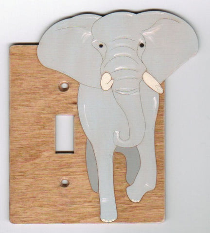 Elephant Single Switch Plate